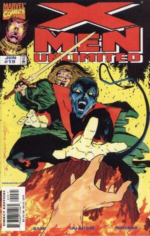 X-Men Unlimited (Vol 1 1998) #19 CVR A