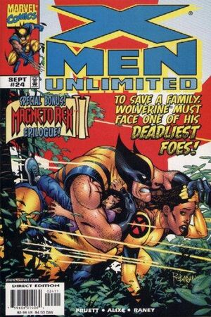 X-Men Unlimited (Vol 1 1999) #24 CVR A