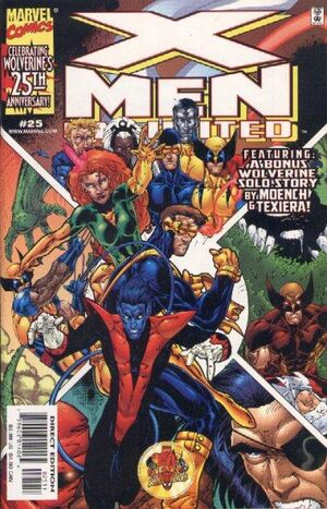 X-Men Unlimited (Vol 1 1999) #25 CVR A