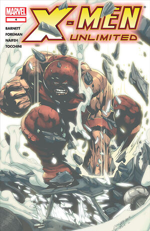 X-Men Unlimited (Vol 2 2004) #4 CVR A