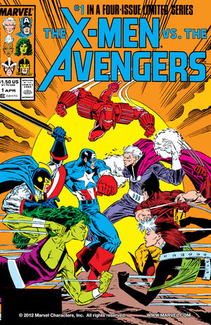 X-Men vs. the Avengers (Vol 1 1987) #1 CVR A