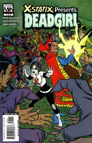 X-Statix Presents: Dead Girl (Vol 1 2006) #1 CVR A