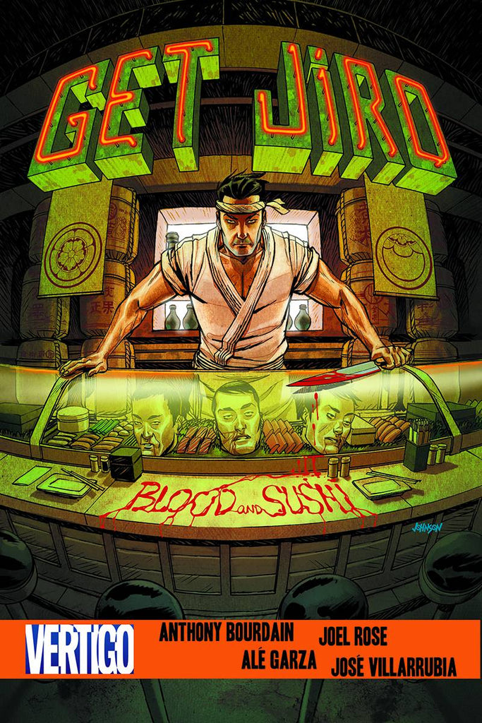 Get Jiro Blood And Sushi HC