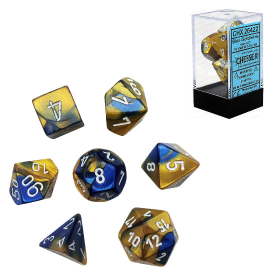 Gemini: Poly Blue Gold/White (7)