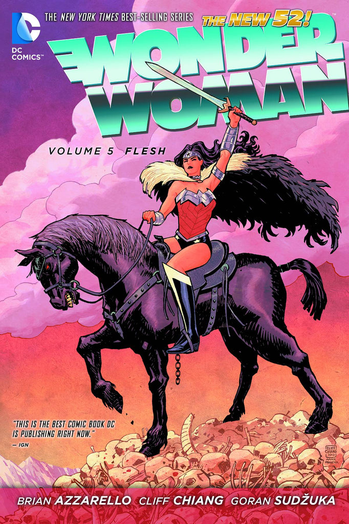 Wonder Woman TP Vol 05 Flesh (N52)