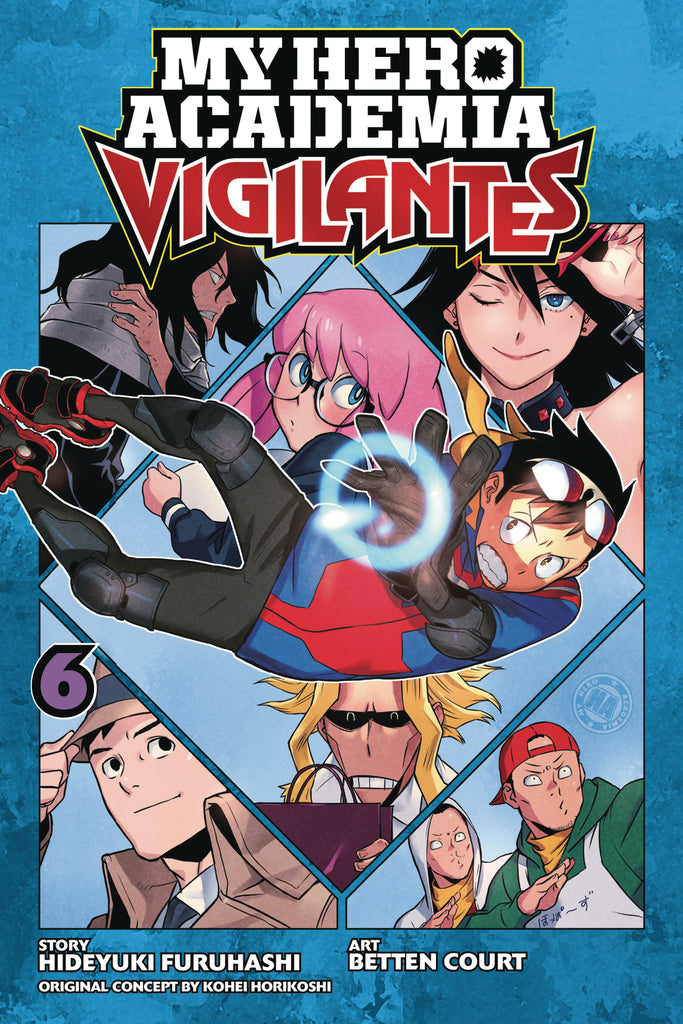 MY HERO ACADEMIA VIGILANTES GN VOL 06
