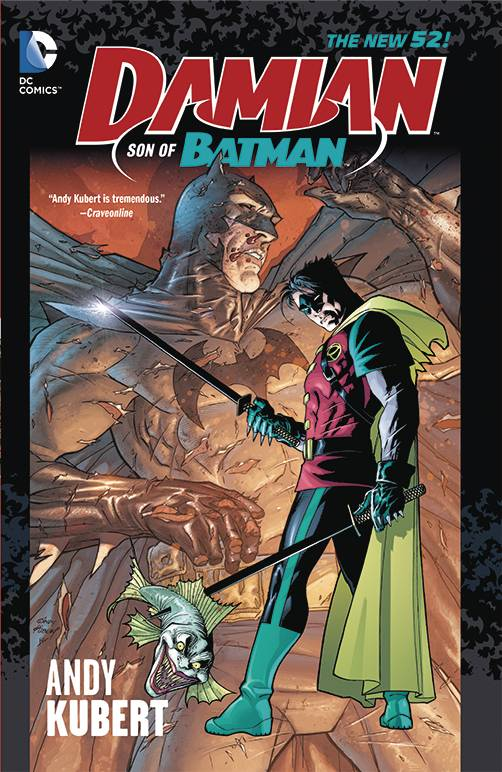Damian Son Of Batman Tp (N52)