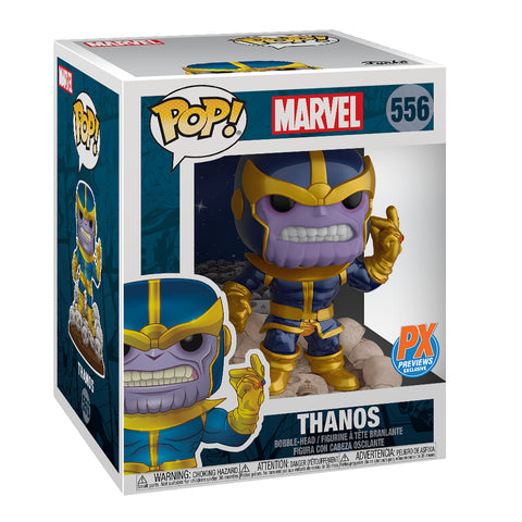 PX Exc POP Marvel Heroes - Thanos Snap 6in