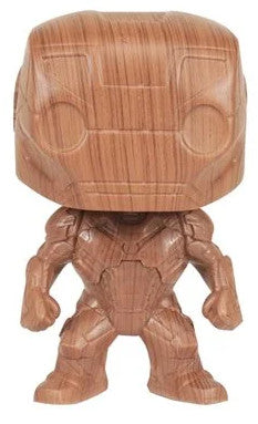 EE Exc POP Marvel Heroes - Iron Man (Wood)