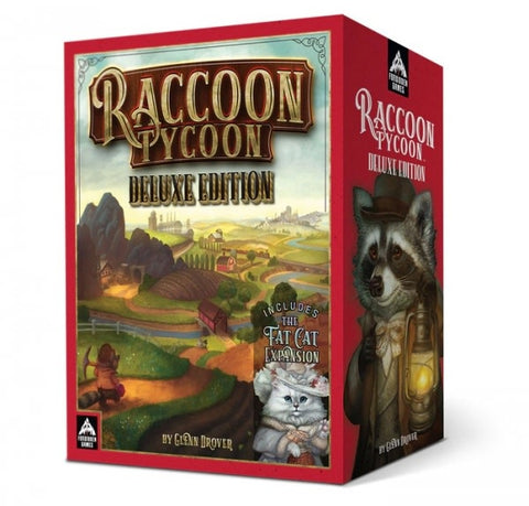 Raccoon Tycoon: Deluxe Edition + Fat Cat Expansion (Kickstarter Exclusive)