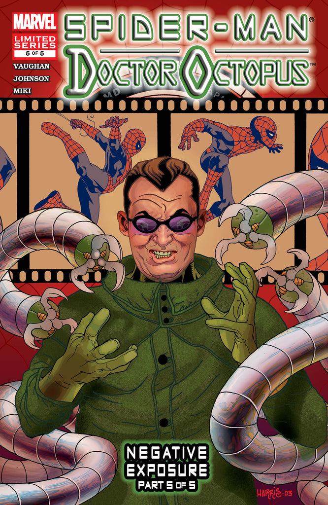 Spider-Man/Doctor Octopus: Negative Exposure (Vol 1 2003) #5 CVR A