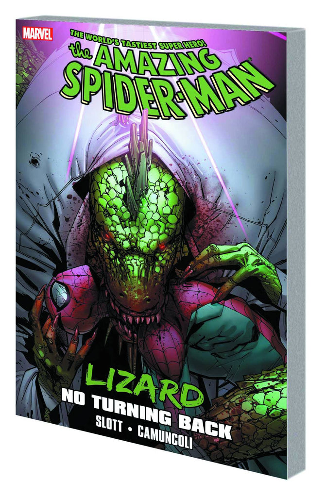 Spider-Man Lizard TP No Turning Back