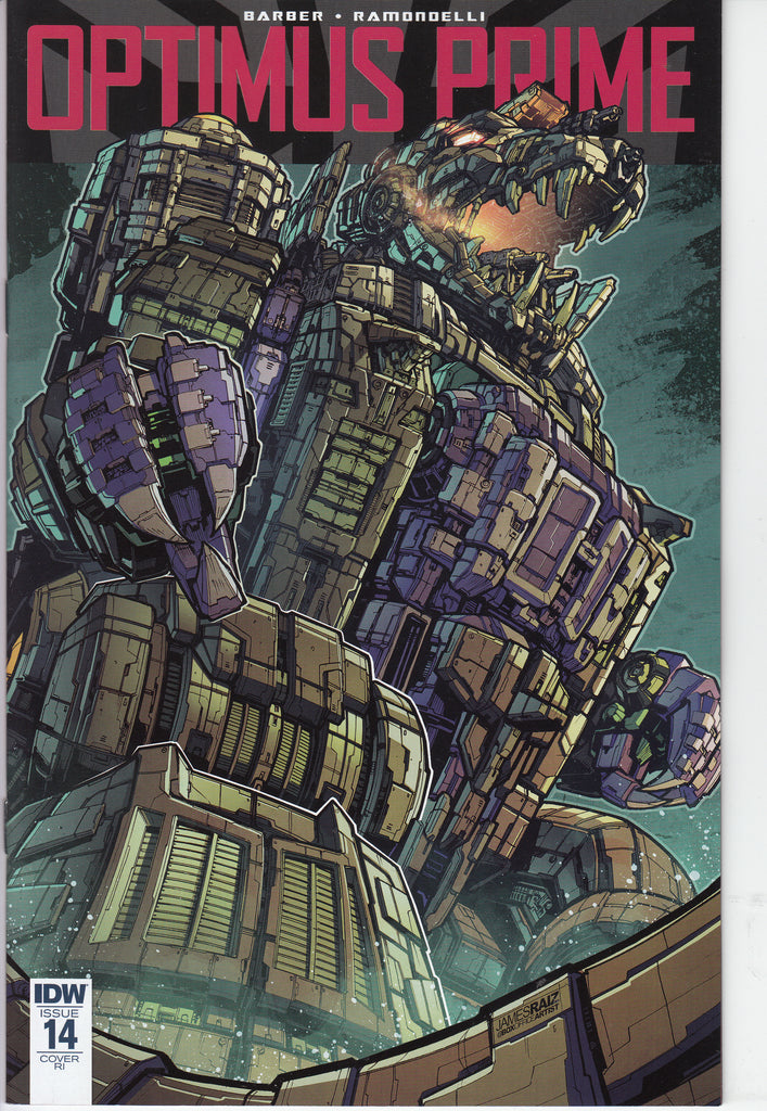 Optimus Prime #14 1/10 James Raiz Variant