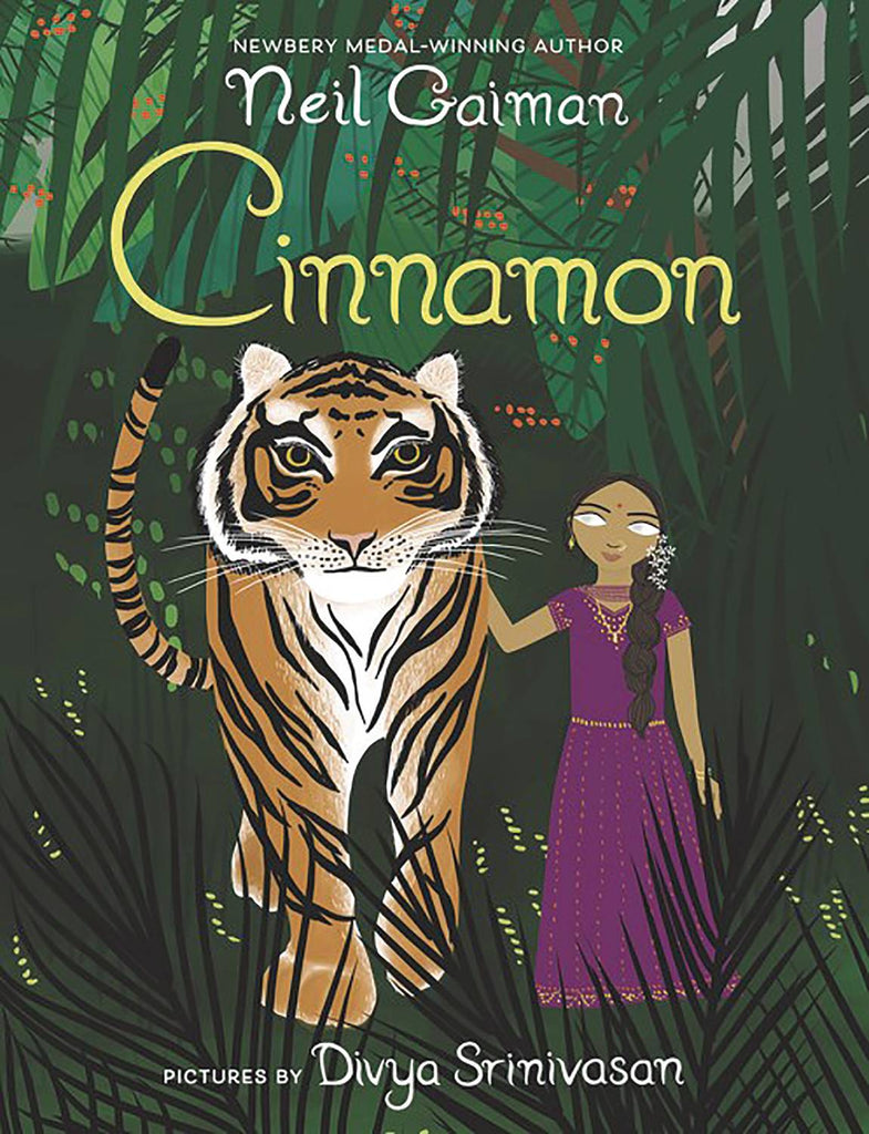 Neil Gaiman Cinnamon HC Picture Book