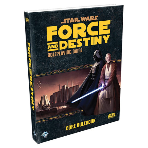 Star Wars RPG: Force and Destiny - Core Rulebook HC