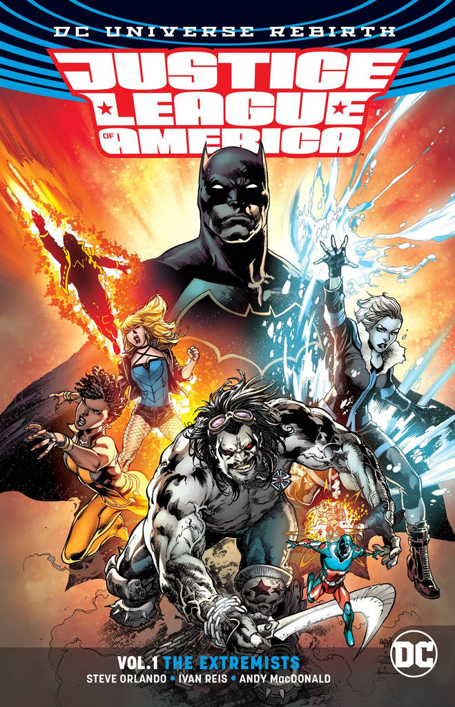 Justice League Of America TP (Rebirth) Vol 01 The Extremists