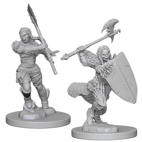 WZK PF Mini - Half-Orc Female Barbarian