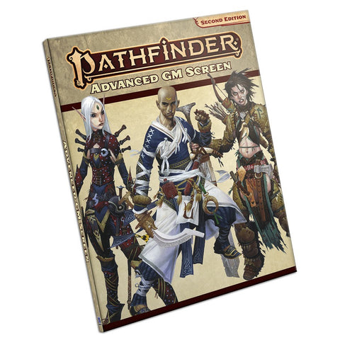 Pathfinder, Second Edition: Advanced GM Screen