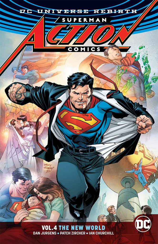 Superman Action Comics TP (Rebirth) Vol 04 The New World