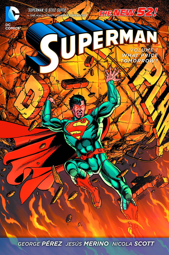 Superman TP (N52) Vol 01 What Price Tomorrow
