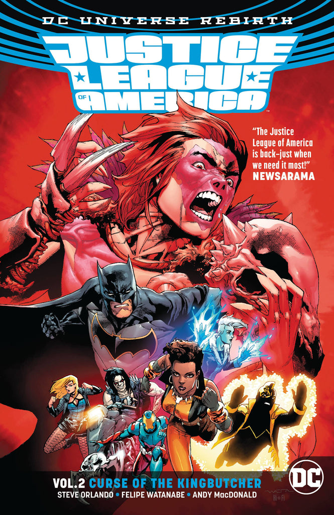Justice League Of America TP (Rebirth) Vol 02 Kingbutcher