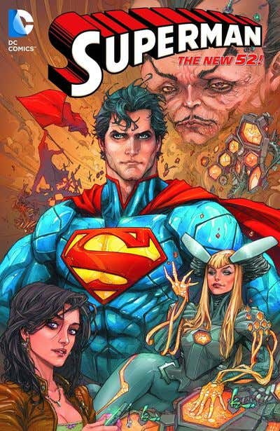 Superman TP Vol 04 Psiwar (N52)