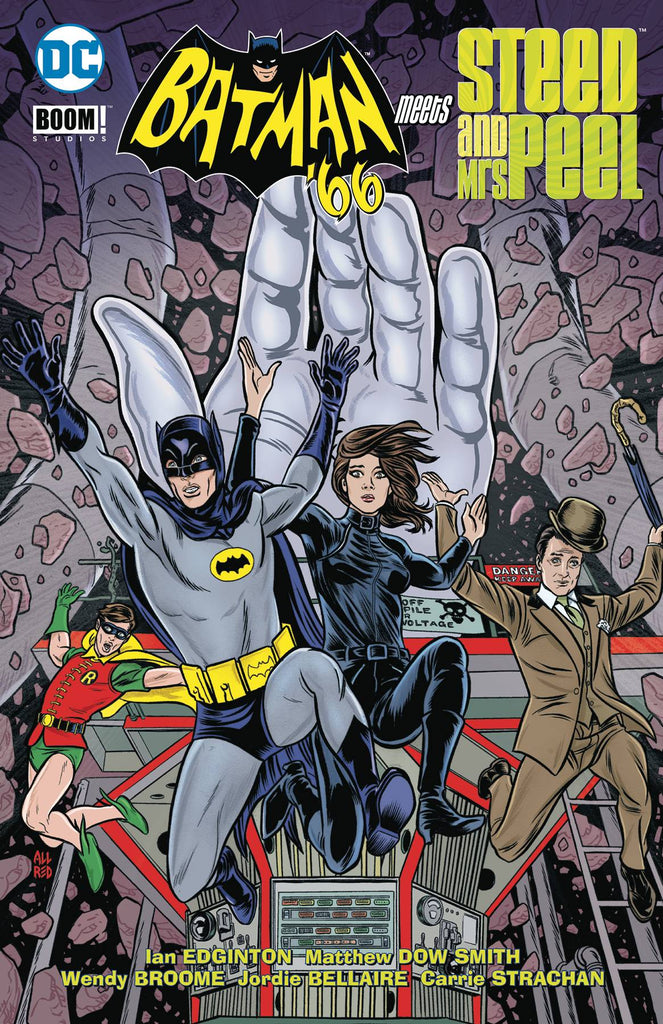 Batman 66 Meets Steed And Mrs Peel TP