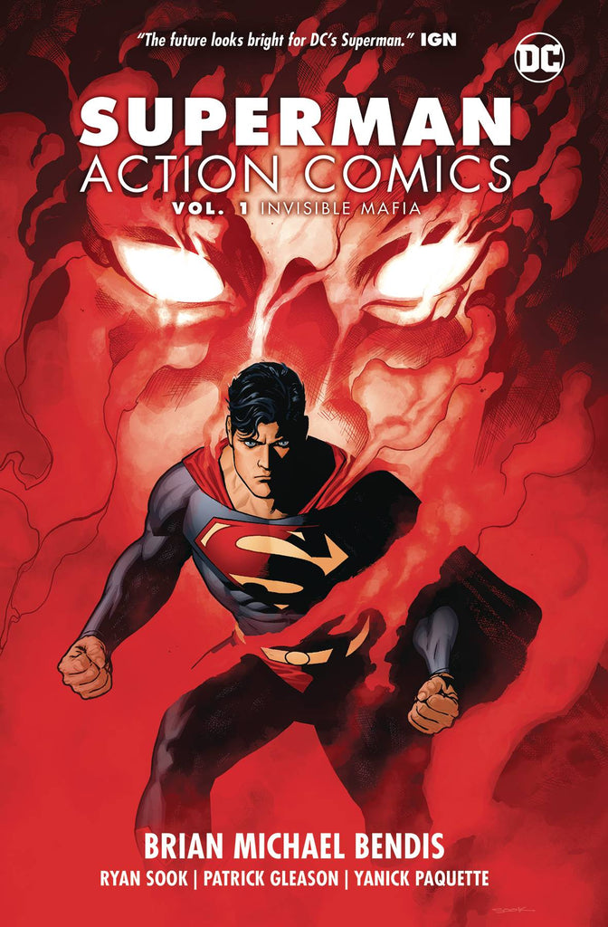 SUPERMAN ACTION COMICS TP VOL 01 INVISIBLE MAFIA