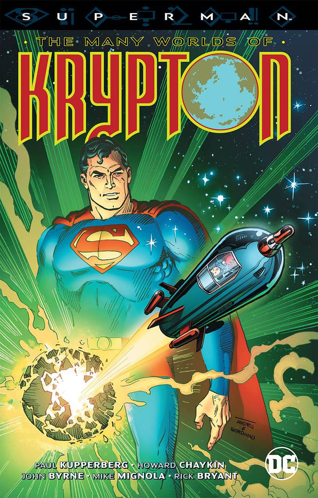 Superman The Many Worlds Of Krypton TP