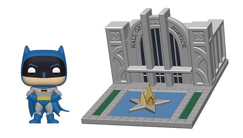 POP DC Town - Hall of Justice & Batman