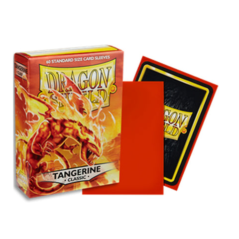 Dragon Shield Sleeves: Standard- Classic Tangerine (60)