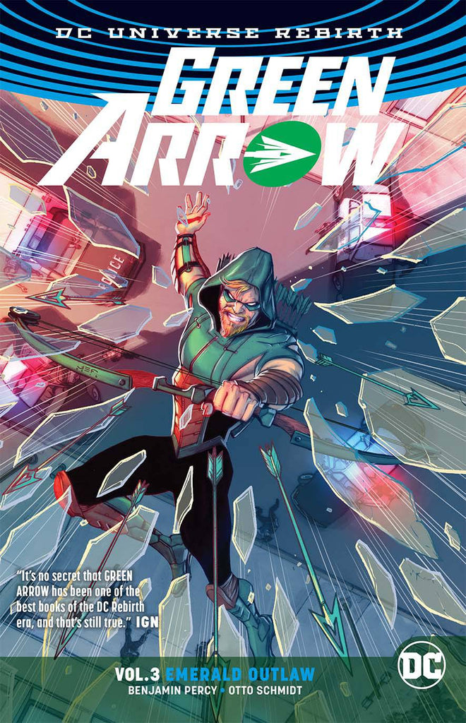 Green Arrow TP Vol 03 Emerald Outlaw (Rebirth)