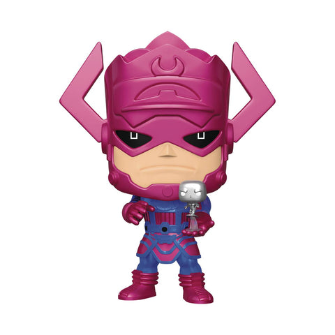 PX Exc 10in POP Marvel Heroes Galactus and Silver Surfer