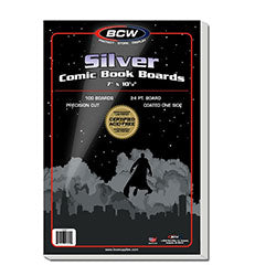 Boards - Silver Comic Backing Boards