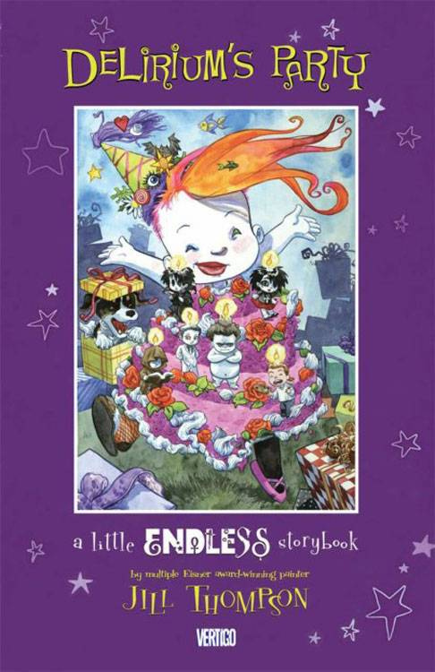 Deliriums Party A Little Endless Storybook HC