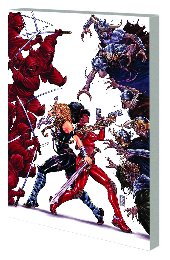 Fearless Defenders TP Vol 01 Doom Maidens Now