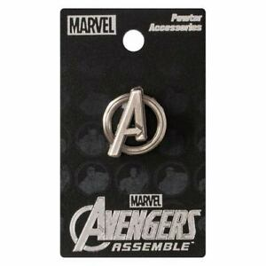 Lapel Pin - Avenger Logo Pewter
