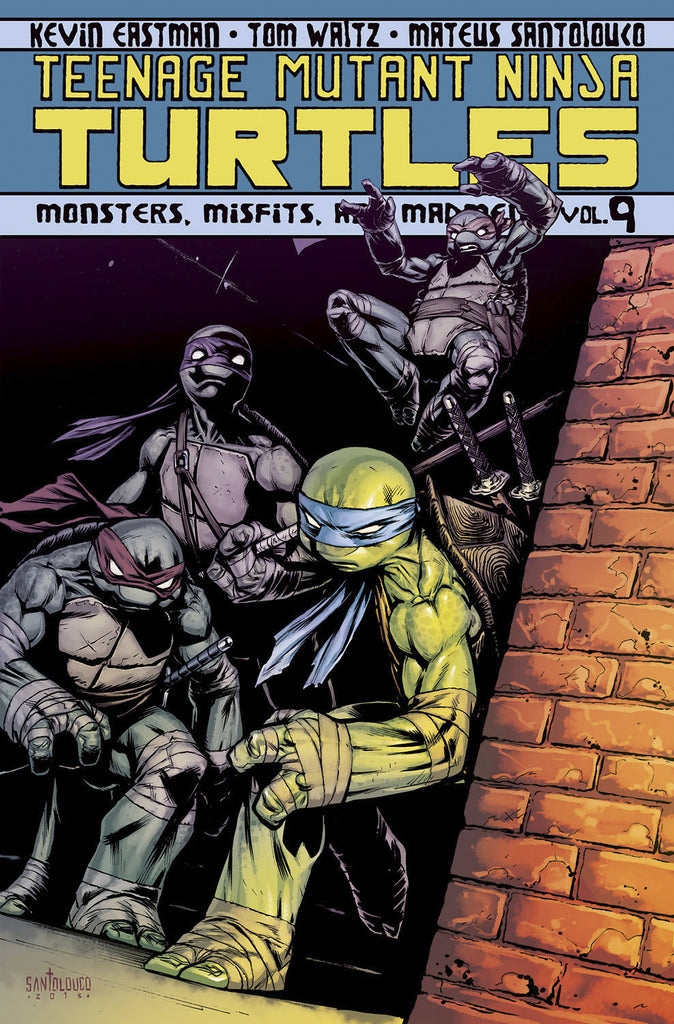 TMNT Ongoing TP Vol 09 Monsters Misfits Madmen