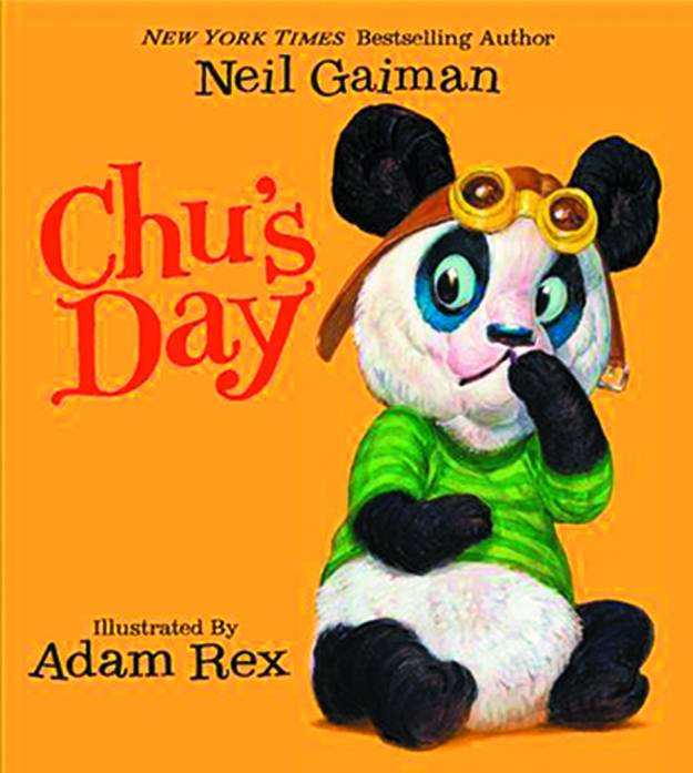 Neil Gaiman Chus Day Board Book