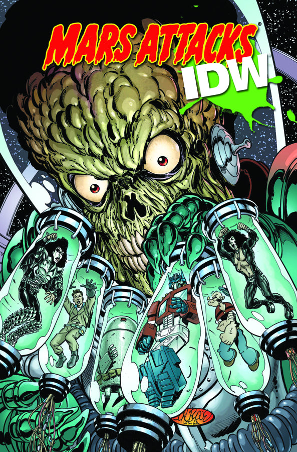 Mars Attacks Idw Tp
