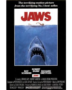 POSTER - JAWS MOVIE POSTER