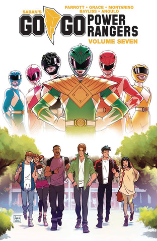 Go Go Power Rangers TP Vol 07