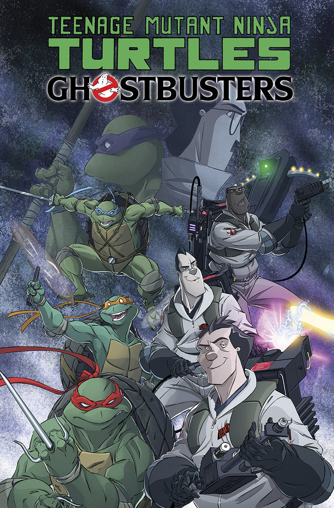 TMNT Ghostbusters TP 01