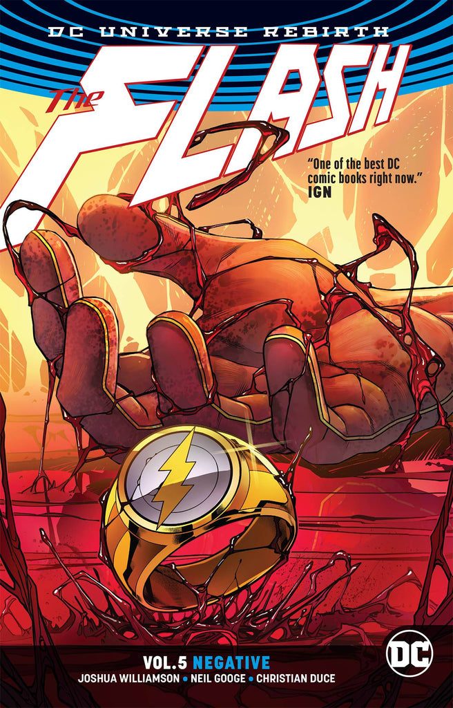Flash TP (Rebirth) Vol 05 Negative