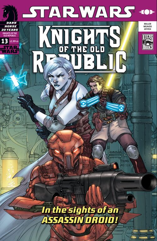 Star Wars - Knights of the Old Republic (Vol 1 2006) #13 CVR A