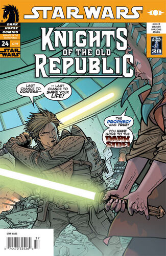 Star Wars - Knights of the Old Republic (Vol 1 2006) #24 CVR A