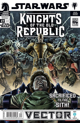 Star Wars - Knights of the Old Republic (Vol 1 2006) #27 CVR A
