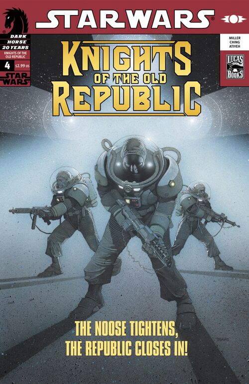 Star Wars - Knights of the Old Republic (Vol 1 2006) #4 CVR A