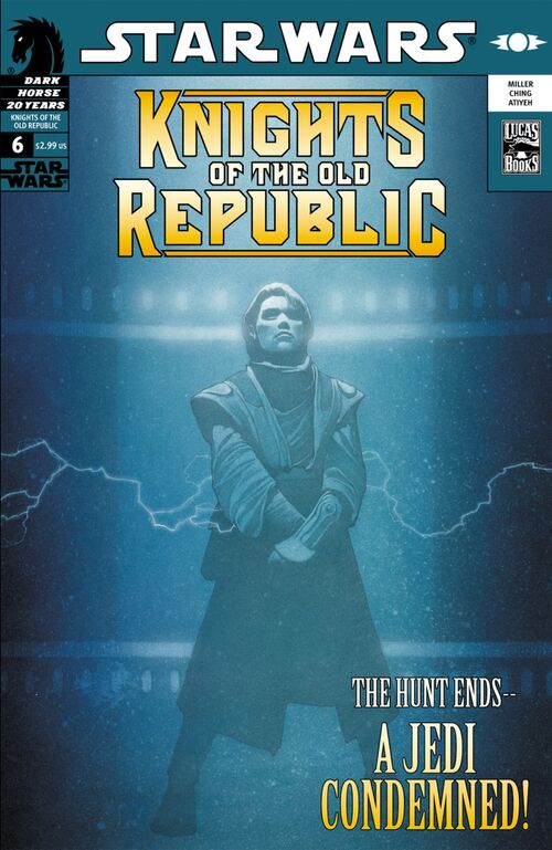 Star Wars - Knights of the Old Republic (Vol 1 2006) #6 CVR A