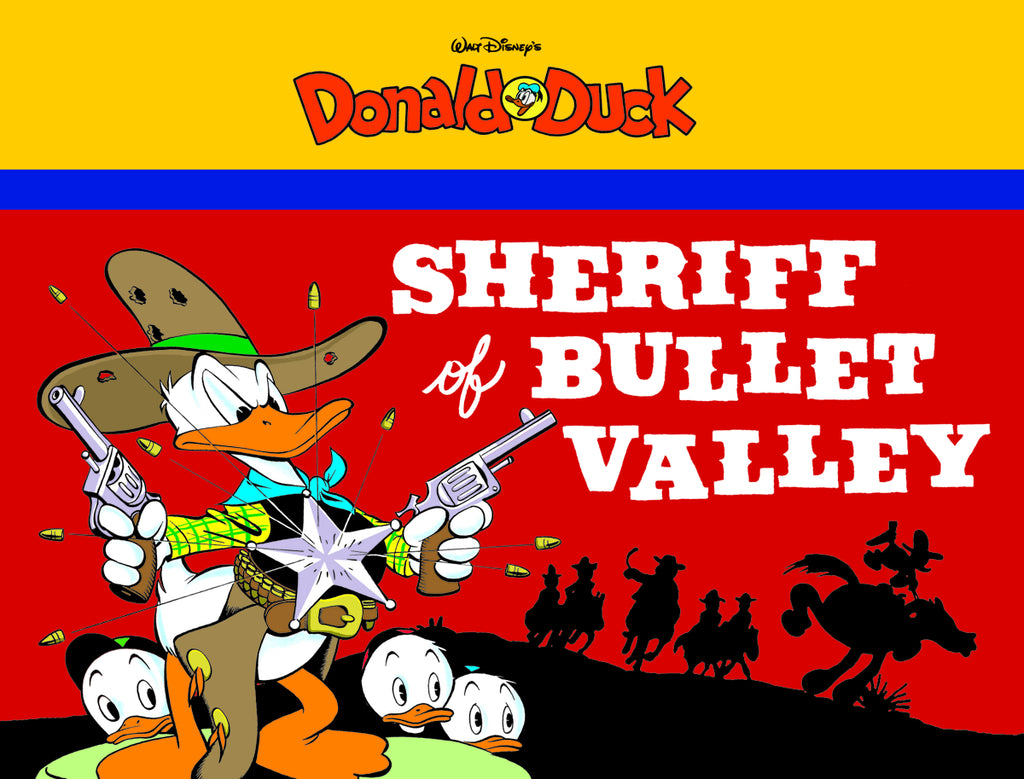 Walt Disney Donald Duck GN Vol 02 Sherrif Bullet Valley
